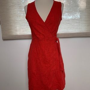Madewell Texture and Thread Side Tie Minidress, XS